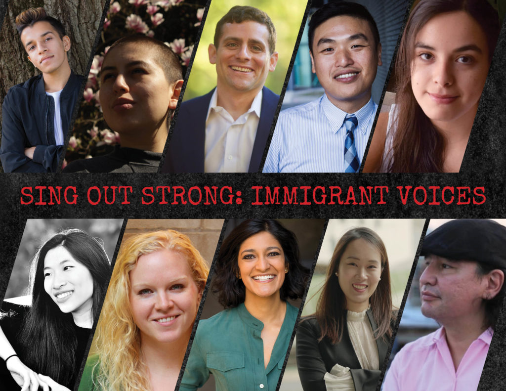 Sing Out Strong: Immigrant Voices Composers