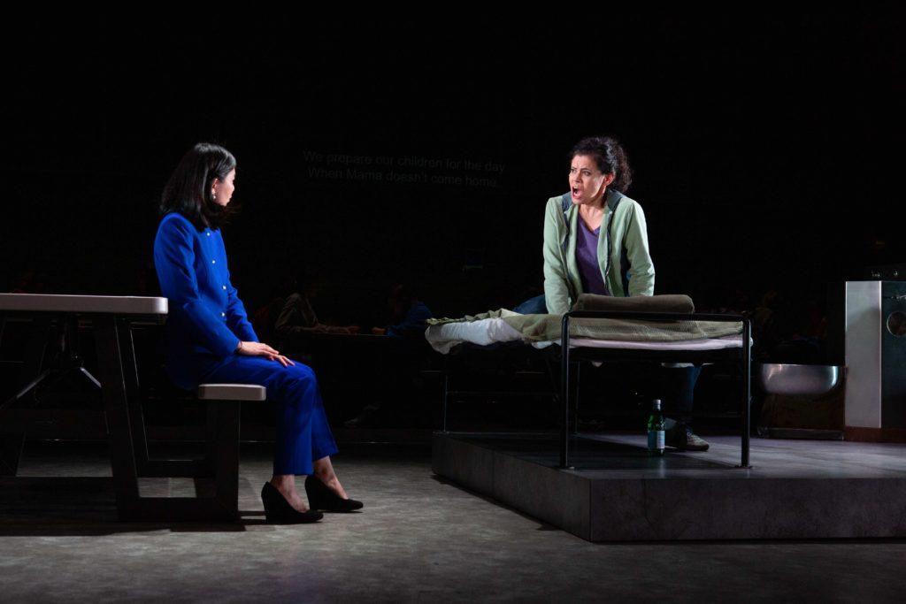 Singa (Helen Zhibing Huang) and Rosa (Carla López-Speziale) in I Am A Dreamer Who No Longer Dreams