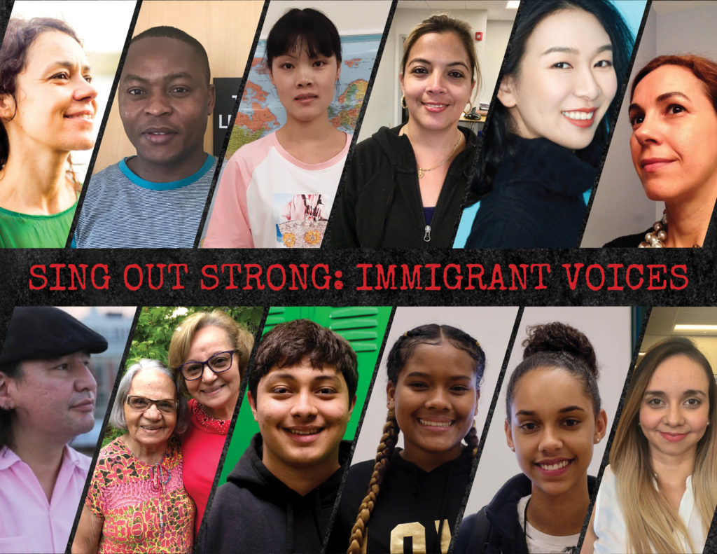 SOS: Immigrant Voices Writers