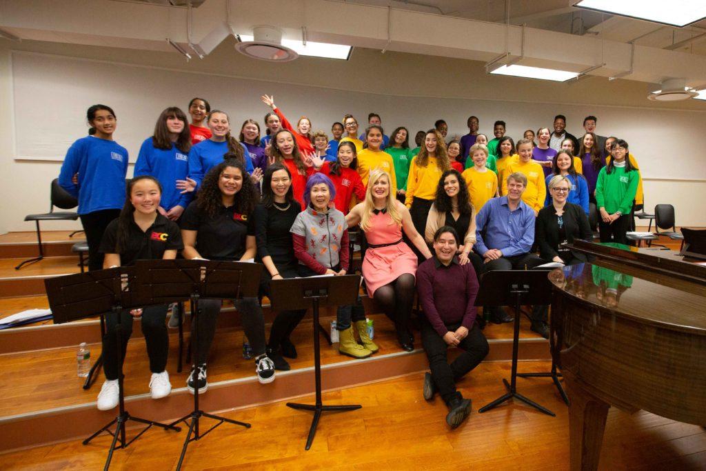 Boston Children's Chorus at the Dreamer Workshop
