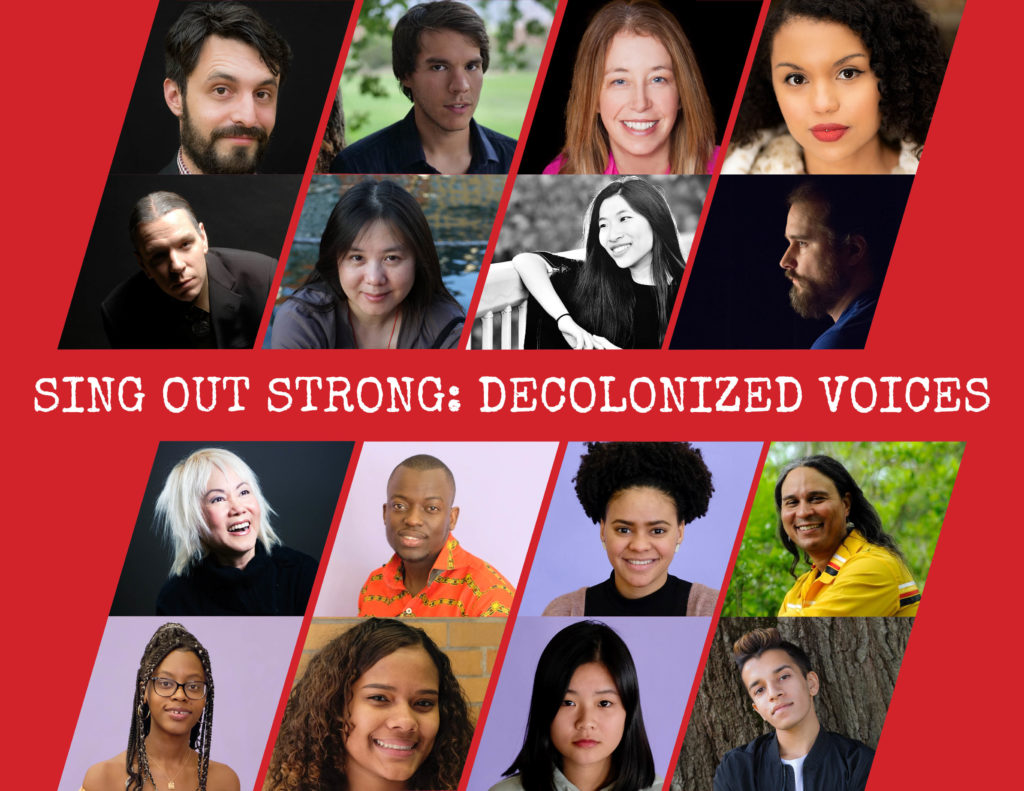 SOS: DeColonized Voices Writers and Composers